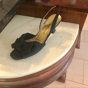 Vintage Yves Saint Laurent black heels size 8